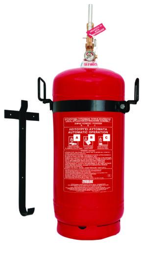 Πυροσβεστήρας 25Kg Ξηράς Σκόνης Τοπ. Εφαρμ. Θέση για Πυροκρ.