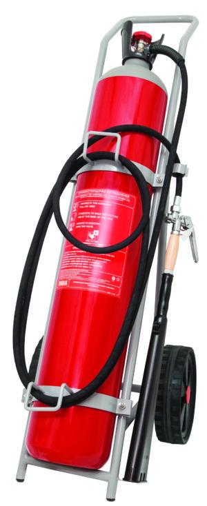 Τροχήλατος Πυροσβεστήρας 45Kg CΟ2