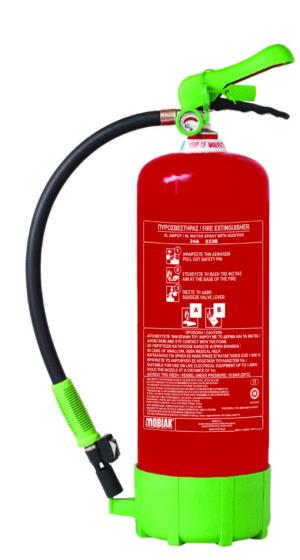 Πυροσβεστήρας 6Lt Οικολογικού Αφρού