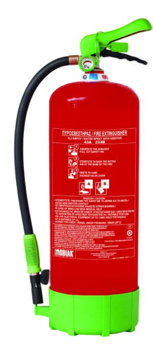 Πυροσβεστήρας 9Lt Οικολογικού Αφρού