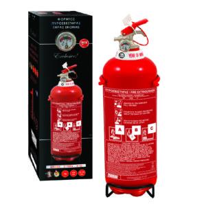 Πυροσβεστήρας 1Kg Ξηράς Σκόνης EXCLUSIVE