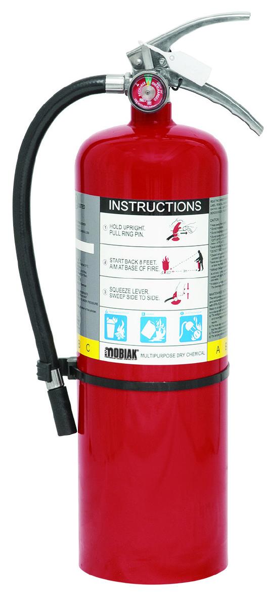 Πυροσβεστήρας 10lb Ξηράς Σκόνης
