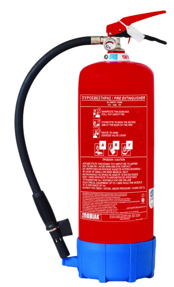 Πυροσβεστήρας 6Lt ABF