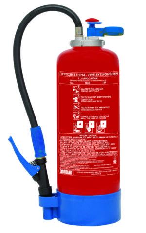 Πυροσβεστήρας ABF 9Lt με Επικρουστήρα