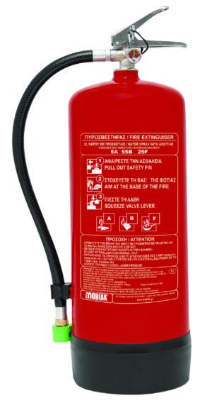 Πυροσβεστήρας 6Lt Υδρονέφωσης Νερού με Πρόσθετο