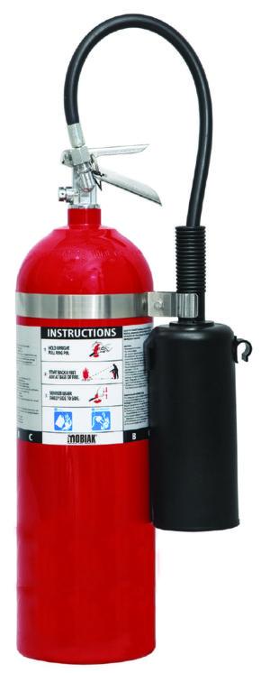 Πυροσβεστήρας CO2 15lb αλουμινίου