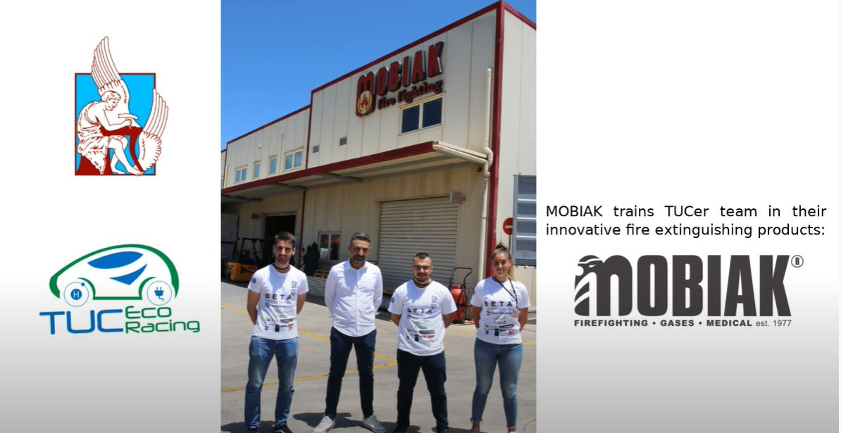 H MOBIAK φιλοξένησε στις κεντρικές εγκαταστάσεις της εταιρείας την ομάδα TUCer του Πολυτεχνείου Κρήτης
