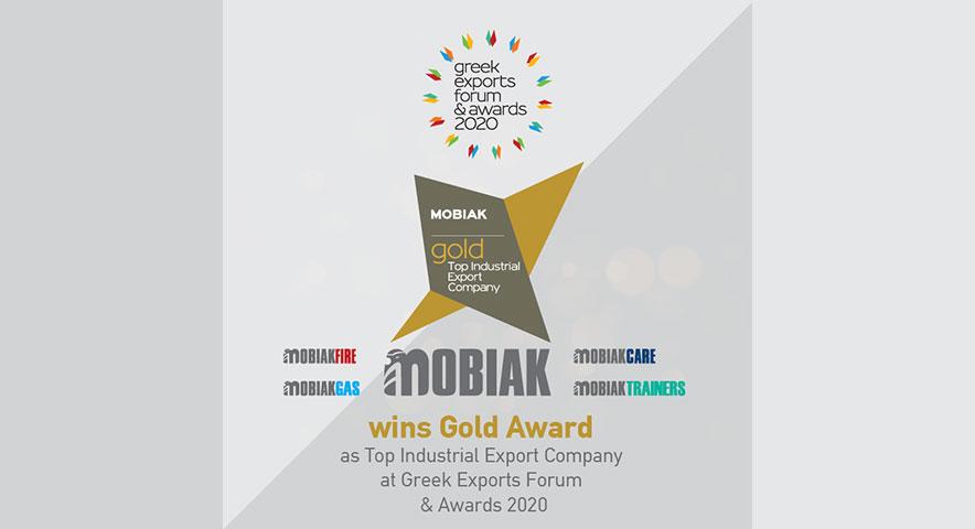 """MOBIAK gewinnt den ersten Platz in der Kategorie """"Top Industrial Export Companies"""""""